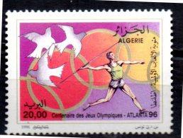 ALGERIE     N° 1105  * *     JO 1996     Javelot - Athletics
