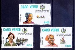 Cape Verde 1982 MNH, Military, Farming, Children - Francobolli