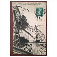 Paris  La Tour Eiffel  Le Sommet Ou Sont Installés Les Appareils D´ Observations Scientifiques  1023  ND - Tour Eiffel