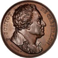 France, Medal, Galerie Métallique Des Grands Hommes Français, De Crébillon - France