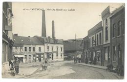 HAUTMONT (59) - Place Du Marché Aux Cochons - Animée - - Ohne Zuordnung