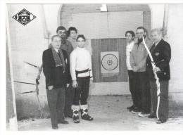 CPSM CHAMBLY TIR A L ARC ? ARBALETE ? SOUVENIR SALON DE COLLECTIONS AVRIL 1985 N° 453 - Tir à L'Arc