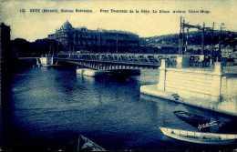 CPA - Sète (34) - Pont Tournant Ferroviaire De La Gare - Ouvrages D'Art