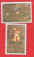 823 ~~ 1989 - BELGIQUE  N°  2323/ 24**  Neufs - Belgique