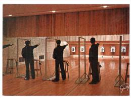 CPSM STAND DE TIR ECOLE NATIONALE DE POLICE DE CANNES ECLUSE 77 - Waffenschiessen