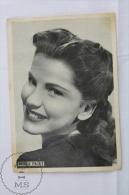 Old Theme Cinema/ Movie Image - Spanish Magazine Advertising  - Actress: Debra Paget - Documentos Antiguos