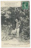 """PEYRUIS (04) Le Poête Henri Bérard (1869-1953) à La Source Des Nymphes (Villa Des Dieux)  -""""Lou Félibre De Peiruis"""" - Zonder Classificatie"""