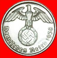 § SWASTIKA: GERMANY ★ 2 PFENNIG 1938D! LOW START★NO RESERVE! Third Reich (1933-1945) - 2 Reichspfennig