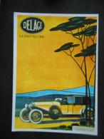 """CP - """"DELAGE"""" La Voiture Chic - Sport Automobile"""