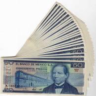 Mexique : 50 Pesos 27 ENE 1981 : UNC - México