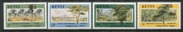 Kenya 1986 Indigenous Trees Set MNH - Kenya (1963-...)