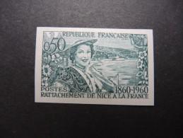 FRANCE - Essai De Couleur Non Dentelé Et Luxe - Détaillons Collection - A Voir - Lot N° 11978 - Proofs