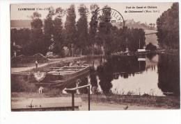 Vandenesse - Port Du Canal Et Château De Châteauneuf, Péniche, Thème Fluvial / Edition P.B. - Other Municipalities