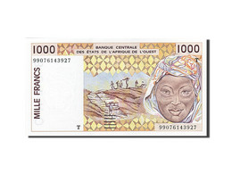 West African States, Côte D'Ivoire, 1000 Francs, 1991-1992, 1999, KM:111Ai, NEUF - West African States