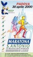 """ADESIVO - Padova """" Maratona Di S. Antonio """" - Atletica"""