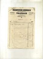 - FRANCE 47 . MARMANDE . FACTURE MAISON BIMES . STATION SERVICE . 1952 . - Transports