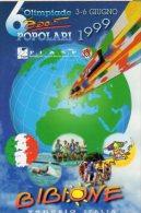 ADESIVO -  BIBIONE (VE) - 6° Olimpiade Sport Popolari - - Atletica