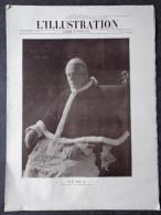 L´illustration N° 3660 Du 19 Avril 1913 La Maladie De Pie X; Mme Poincaré Mère; L'attentat Contre Le Roi D'Espagne - L'Illustration