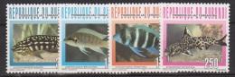 Burundi COB 1082/85 Fish-Vissen-Poissons 1996 MNH - Burundi