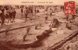BERCK PLAGE  -  Concours De Sable - Berck