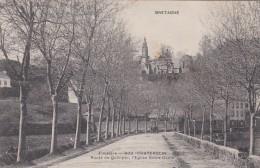 13a - 29 - Chateaulin - Finistère - Route De Quimper, L'Eglise Notre-Dame - N° 900 - Châteaulin
