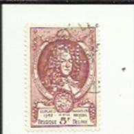1 Timbre  5 F -Congres De L'U P U A Bruxelles_Perforé ( C  L )  Bon Etat 1952 - Lochung