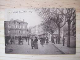 Privas - Place Victor Hugo - Privas