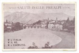 SALUTI DALLE PREALPI VIAGGIATA FP - Vicenza
