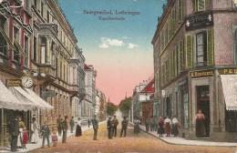 57  Moselle  :  Sarreguemines  Saargenmünd,lothringen Kapellenstrbe    Réf  1512 - Sarreguemines