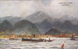 NORWAY; Jossund Fjord, Steamers, 00-10s - Norvège