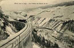 CPA - Morez (39) - Viaducs Ferroviaires Des Grottes - Ouvrages D'Art