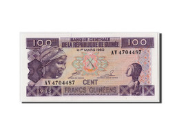Guinée, 100 Francs, 1985, 1960-03-01, KM:13a, NEUF - Guinea