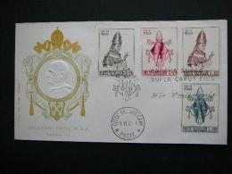 Vatican Vatikan FDC 1963 # Cover Pope Paul VI - FDC