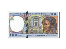 États De L'Afrique Centrale, Tchad, 10,000 Francs,1993-1994, 1999,KM:605Pe, SPL+ - Tsjaad