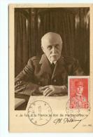 CARTE MAXIMUM PETAIN 1941 - CACHET VICHY 01-01-1941 - MARECHAL PHILIPPE PETAIN N° 472
