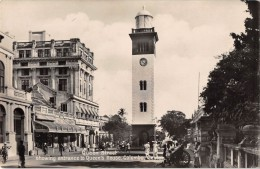 "05021 ""SRI LANKA - COLOMBO (CEYLON) - QUEEN STREET SHOW ENTR. TO QUEEN'S HOUSE."" ANIMATA. CART. POST. ORIG. NON SPEDITA - Sri Lanka (Ceylon)"