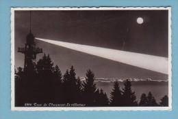 Neuchâtel, TOUR De CHAUMONT, Le REFLECTEUR En Action, Au Clair De Lune - NE Neuchâtel