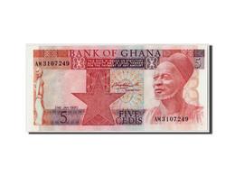 Ghana, 5 Cedis, 1980, 1980-01-02, KM:19b, NEUF - Ghana