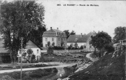 (FC)  CPA  Le Russey   Route De Morteau  (bon état) - Frankreich