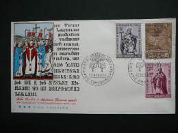 Vatican Vatikan FDC 1963 # Cover Slavic Countries, St. Clements Basilica, Christianity, Sculpture - FDC