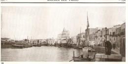 IT--00037--   PORTO CANALE DI MAZARA DEL VALLO - ALLA FOCE DEL FIUME  MAZARO - BARCHE - VELIERI - Immagine Tagliata
