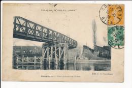 Carte  De Compiègne Pont En Bois Sur L'oise ( Français N'oubliez Jamais ! ) ( Recto Verso ) - Compiegne
