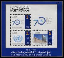 BRUNEI 2015 - 70e Ann De L´ONU - BF Neufs // Mnh - Brunei (1984-...)