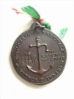 III RADUNO TRIESTE 13 LUGLIO  RADUNO NAZIONALE MARINAI D'ITALIA   MARINA MILITARE   MEDAGLIA  MED - Navy