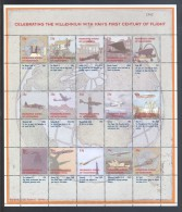Micronesia - 1999 100 Years Aircraft Sheet MNH__(THB-2368) - Micronesia