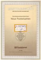 ALLEMAGNE  Carte  Notice 1er Jour  1993  Codes  Postaux Poste - Post