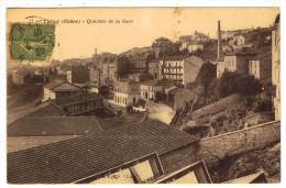 69THI1- THIZY- Quartier De La Gare - Thizy