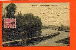 95 PONTOISE : Ile Saint Martin - L'écluse - Pontoise