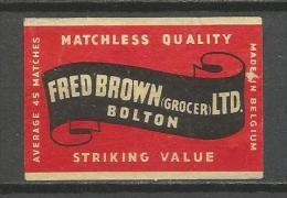 Matchbox Label Etiquette Allumette - Matchbox Labels