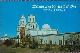 Usa °°Arizona - Tucson . Mission San Xavier Del Bac - Dentelée écrite - Tucson